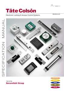 Electronic Locking & Accessories