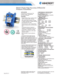 Datasheet CXLdp High Accuracy Differential Transducer