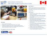 Variable Frequency Drive Training Systems