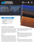 Coil Coatings - Specific Systems