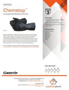 Chemstop™ Unsupported Black Neoprene