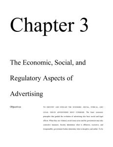Read Chapter 3: The Economic, Social, and Regulatory Aspects of