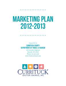 2011-2012 Marketing Plan