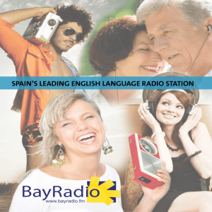 spain`s leading english language radio station