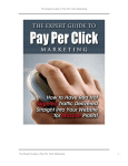 The Expert Guide to Pay Per Click Marketing