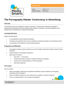 The Pornography Debate: Controversy in Advertising Overview