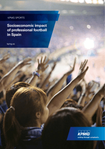 Socioeconomic impact of professional football in Spain