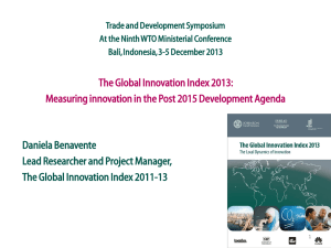 here - Global Innovation Index