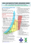 Asia Lean Manufacturing Awareness Series