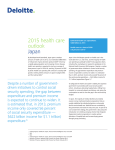 2015 health care outlook Japan