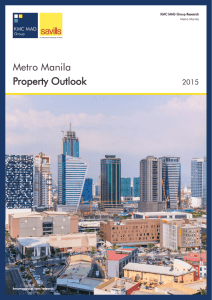 Metro Manila | Property Outlook 2015