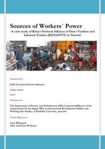 Sources of Workers´ Power, Grith Andersen