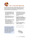 How to Avoid Date Rape Drugs - San Francisco Women Against Rape