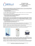 Dermatology brochure - Medical Instill Technologies, Inc