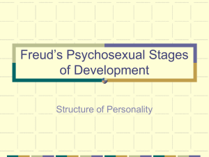 Freud`s Psychosexual Stages of Development