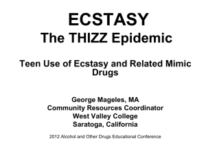 ecstasy - California State University