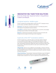 innovative self-injection solutions