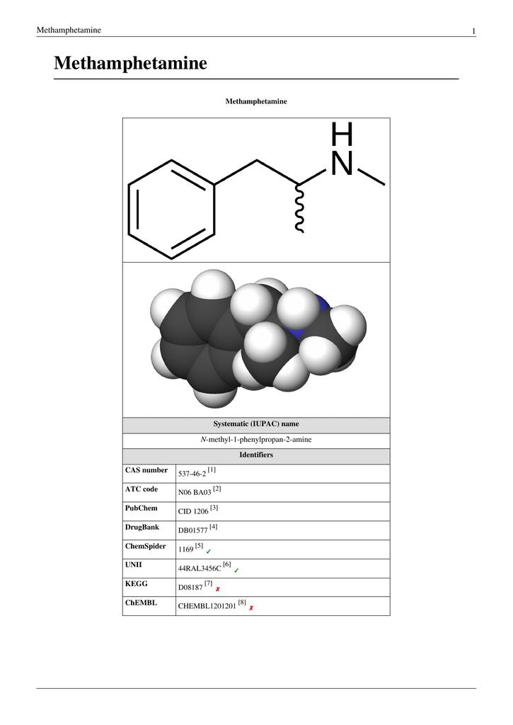 Methamphetamine - Department of Electrical Engineering