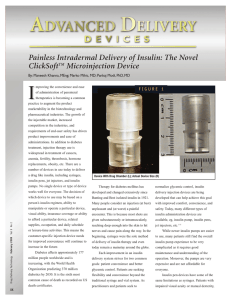 Advanced Delivery Devices Article