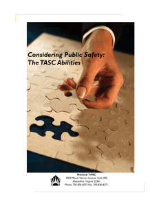 Considering Public Safety – The TASC Abilities