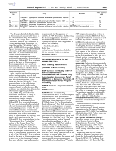 Federal Register/Vol. 77, No. 49/Tuesday, March 13, 2012/Notices
