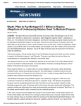 Wyeth, Pfizer to Pay Michigan $17.1 Million to Resolve Allegations