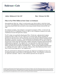 Pfizer to Pay $784.6 Million in False Claims Act Settlement 02.26.2016