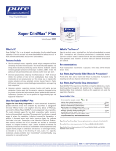 Super CitriMax® Plus - Pure Encapsulations