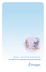 An Introduction to RNA Interference (RNAi)