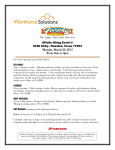 Offsite Hiring Event @ 8100 Kirby-