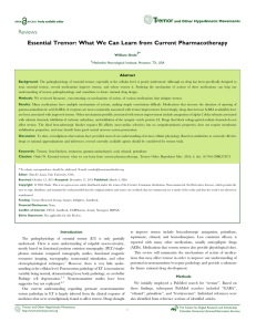 Reviews Essential Tremor - Tremor and Other Hyperkinetic