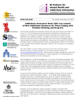 Addictions Awareness Week 2003 sees Launch of