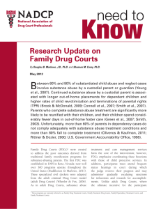 Research Update on Family Drug Courts