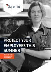PROTECT YOUR EMPLOYEES THIS SUMMER