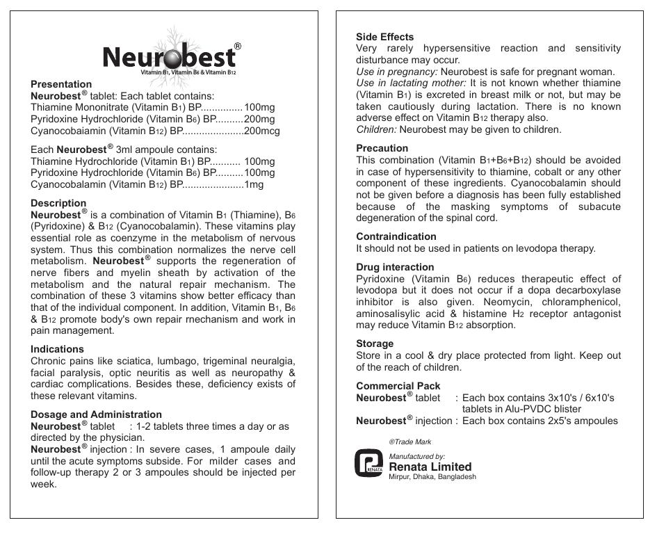 Neurobest Tablet