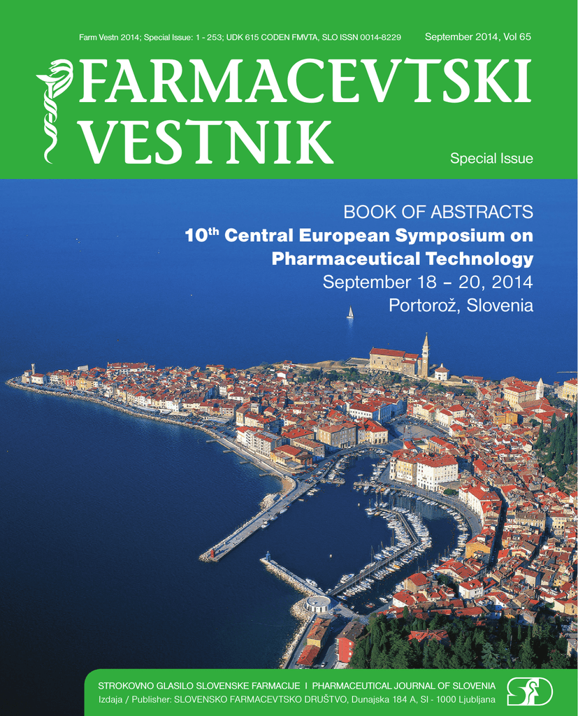 0631fce8aa9 Book of abstracts - 10th Central European Symposium on