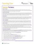 "a PDF version of ""Dystonia: The Basics."""