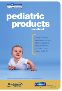 Pediatrician survey did not include Enfagrow® products