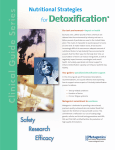 Detoxification   forDetoxification