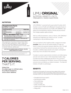LIMU Original® (Superior Liquid Superfood)