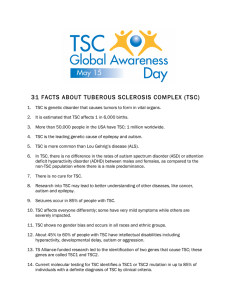 31 facts about tuberous sclerosis complex (tsc)