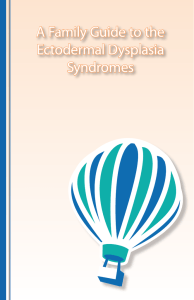 A Family Guide to the Ectodermal Dysplasia Syndromes