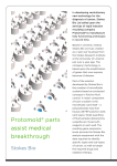 Protomold® parts assist medical breakthrough breakthrough