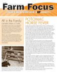 potomac horse fever - College of Veterinary Medicine