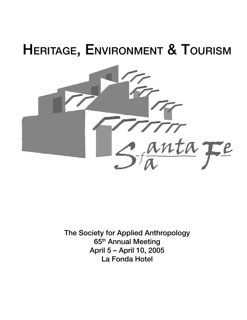 2005 program society for applied anthropology George Bush Ranch