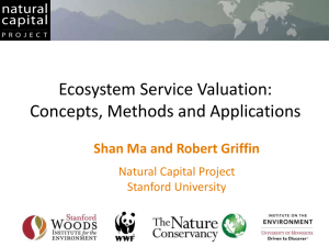 Ecosystem Service Valuation