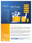 The Web Design Brochure