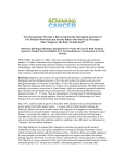 Press Kit - Rethinking Cancer