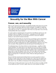 Sexuality for the Man With Cancer