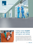 Creating modern hospital interiors with Altro flooring and hygienic